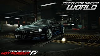 Need For Speed World Audi R8 5.2 FSI Quattro Hot Pursuit (SCPD)