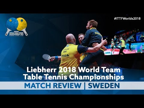 Match Review   Sweden beats Chinese Taipei