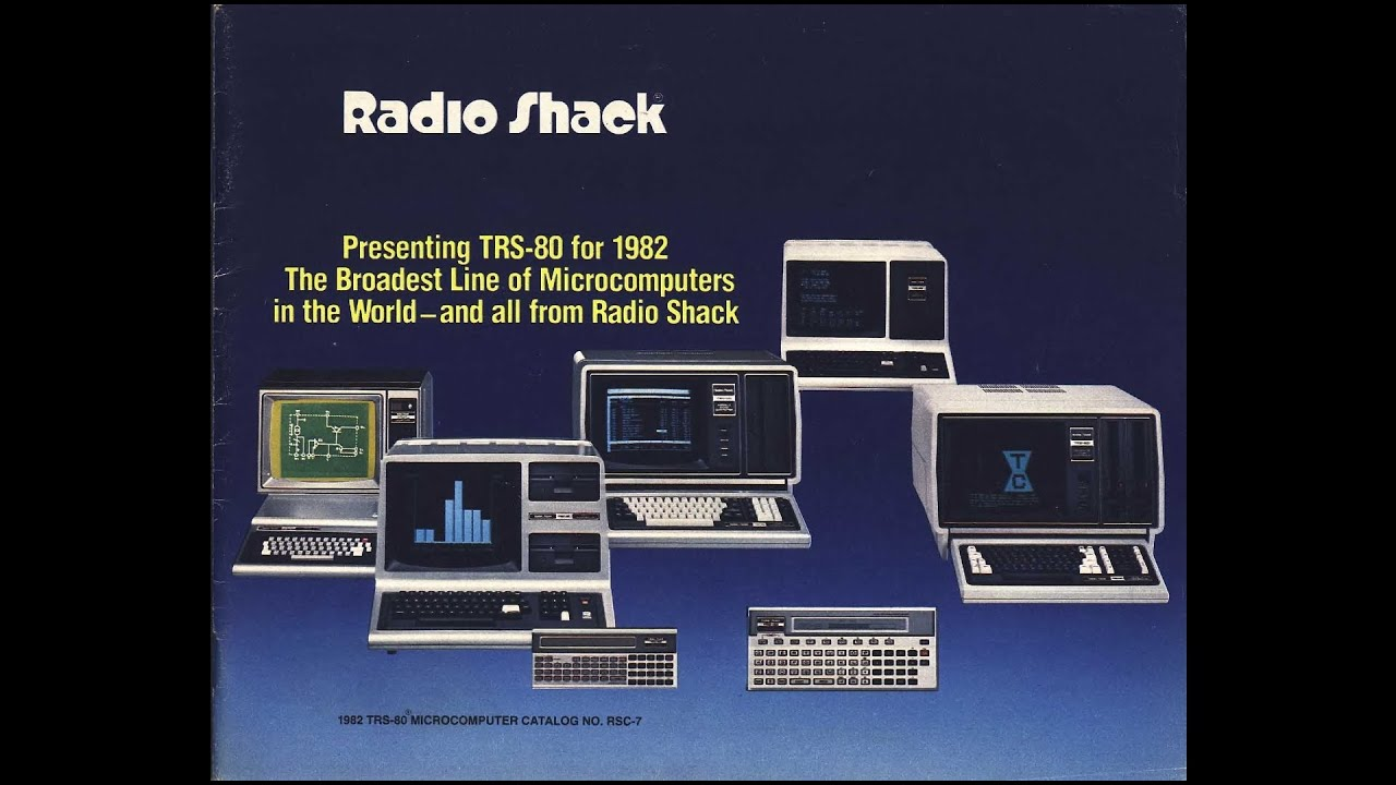 1982 Tandy Electronics - Presenting TRS-80: Broadest Line of Microcomputers  in the World (RSC-07)