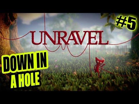 Прохождение UNRAVEL - DOWN IN A HOLE [5]