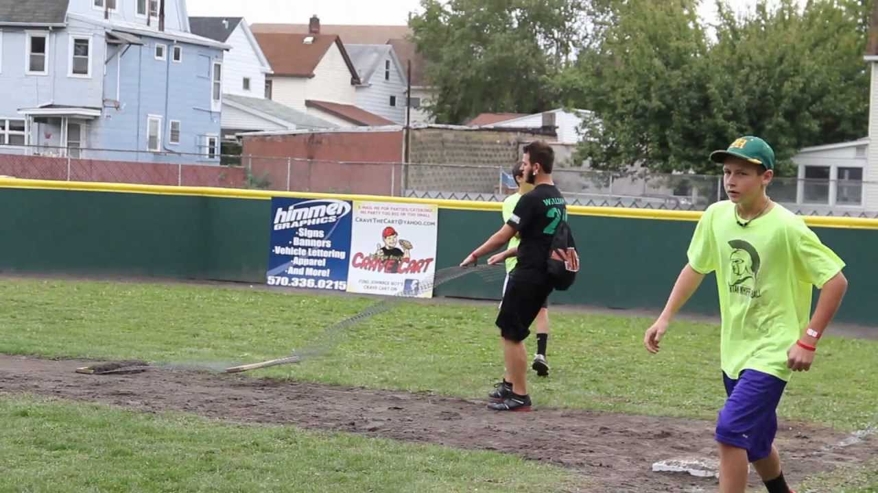how to make a baseball field in your backyard