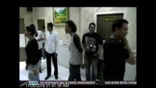 Model Anggita Sari Kembali Ditangkap Polisi