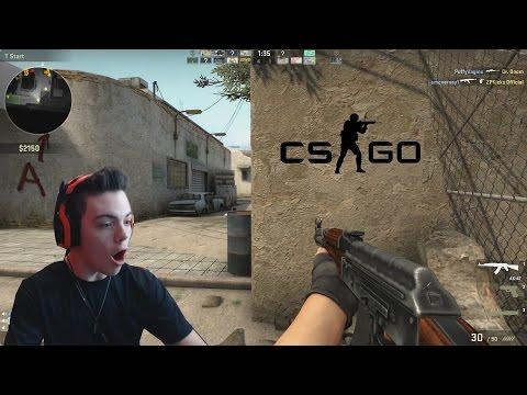 Call of Duty Noob Plays CS:GO!