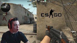 Repeat youtube video Call of Duty Noob Plays CS:GO!