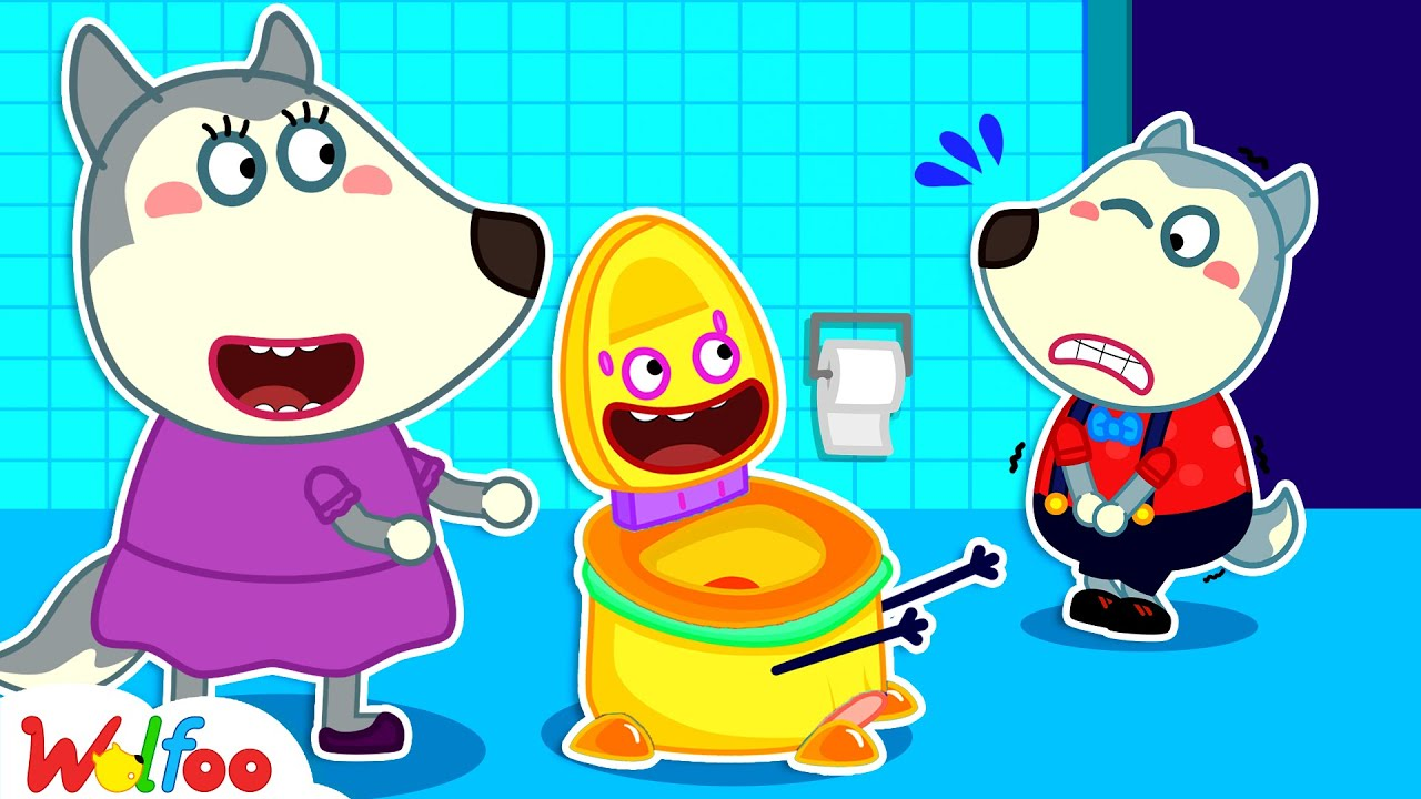 Potty Training with Wolfoo - Yes Yes Go Potty - Wolfoo Learns Good Habits for Kids | Wolfoo Channel