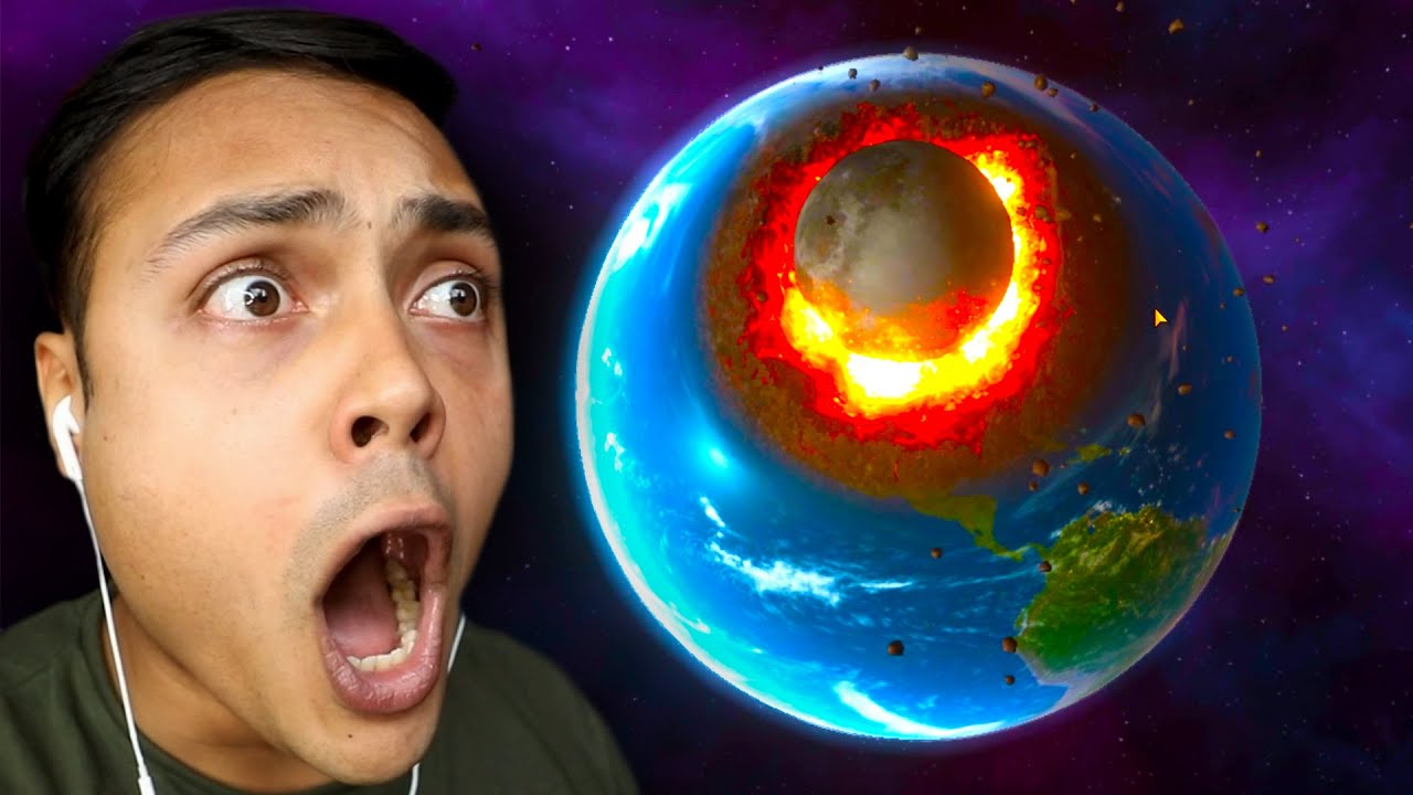 What If The Moon CRASHED Into EARTH