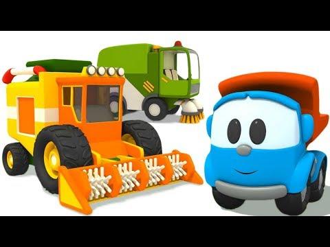 Все серии Грузовичок Лева - Мультики про машинки для детей