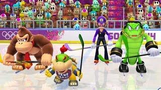 Mario & Sonic at the Sochi 2014 Olympic Winter Games - Teamwork Medley