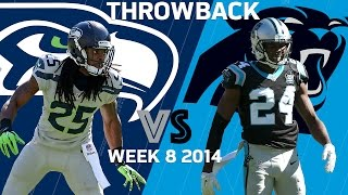 Seahawks vs. Panthers (Week 8, 2014) | Legion of Boom Stop Super Cam | Classic Highlights | NFL