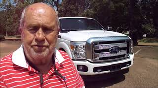 2015 Ford F250 Platinum Test Drive