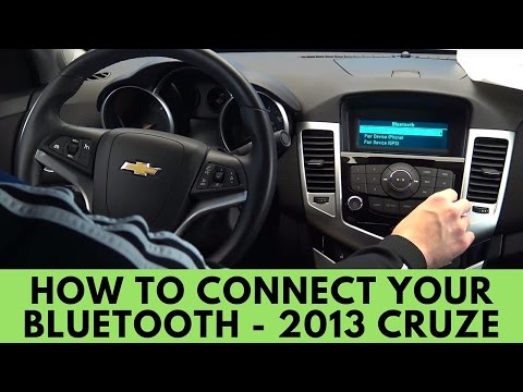 2013 Chevrolet Cruze: How To Connect Bluetooth