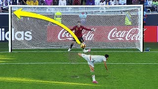 Genius Penalty Kicks in Football