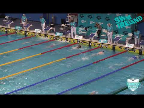 2018 Irish Open Championships - Male 400m Freestyle Junior Final