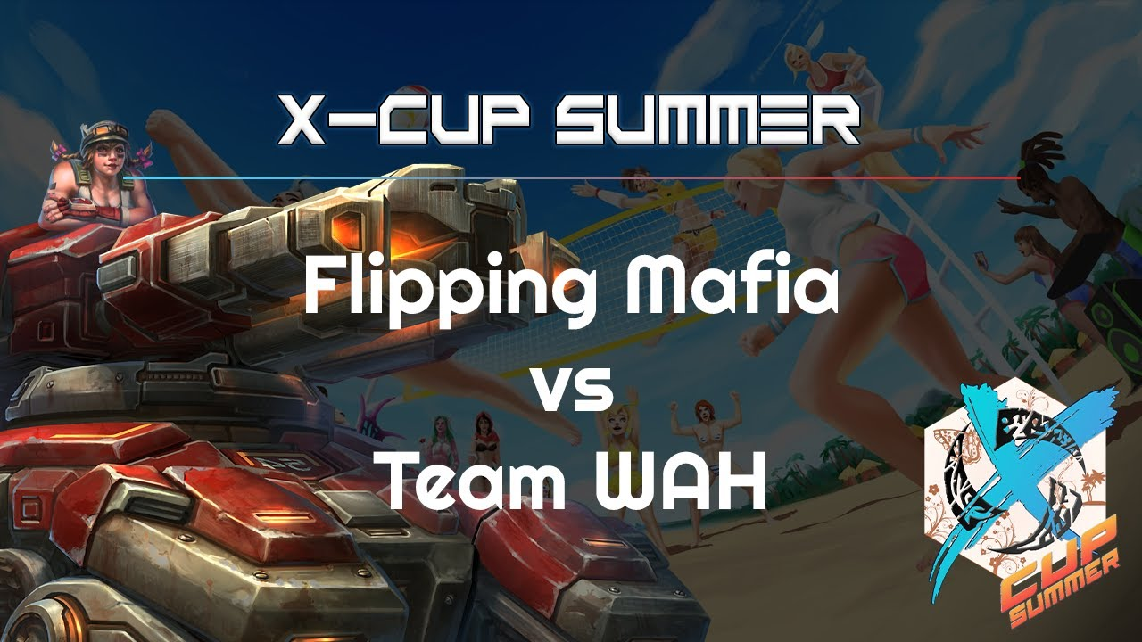 Mafia vs. Team WAH - X Cup Summer - Heroes of the Storm 2021