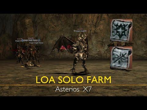 Solo Farm LOA Knights BEAS BEWS, HF Asterios X7