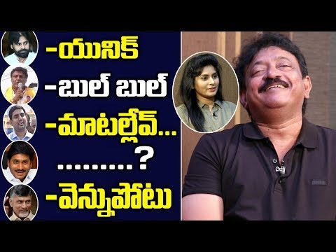 RGV Funny Answeres In Rapid Fire With Swetha Varma | Ram Gopal Varma Interview | Friday Poster