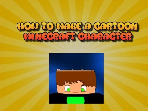 How to Make a Cartoon Minecraft Character in Paint.net for Free