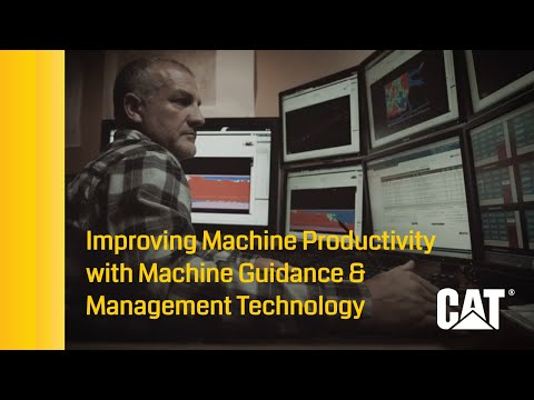 Improving Mining Productivity With Machine Guidance & Management Technology