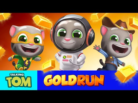 🏆 The Amazing Worlds In Talking Tom Gold Run 🏆