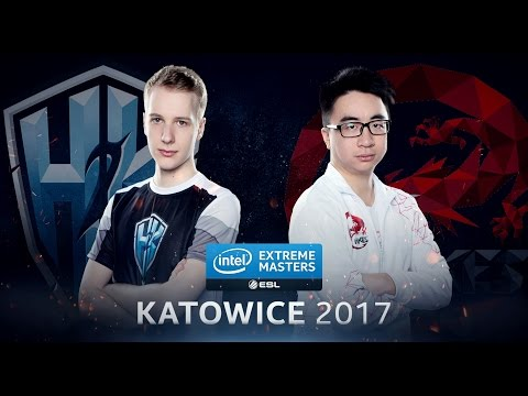 LoL - H2k-Gaming vs. Hong Kong Esports - Group A Decider Game 2 - IEM Katowice 2017