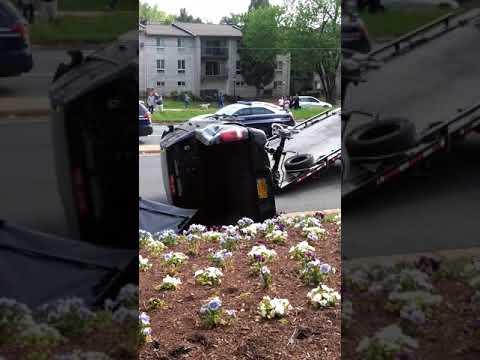 Car crash Alexandria VA