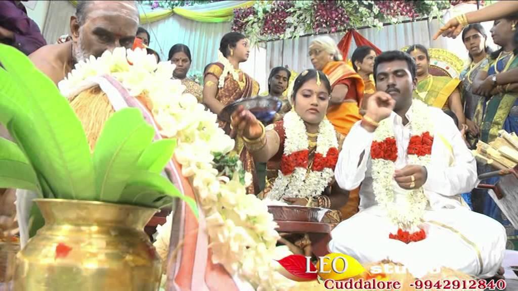 Tamil Wedding Song HD LEO HD VIDEO CUDDALORE, 1.A/A