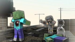 ZOMBIE APOCALYPSE! - They Hunger! - 1 - Decimation/Minekov Gameplay