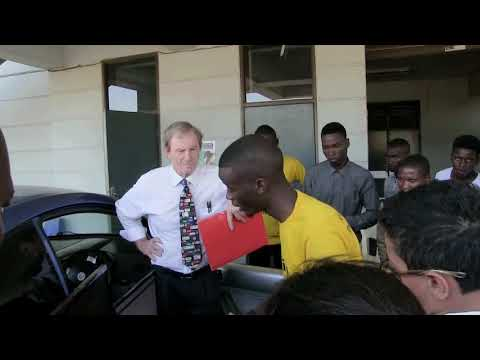 Malawi Polytechnic students develop an automated Car Accident Prevention System