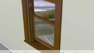 jeld wen vinyl pocket block frame replacement window installation
