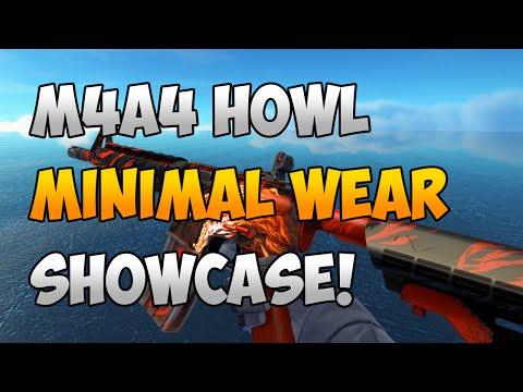 CS:GO: M4A4 Howl Minimal Wear Showcase