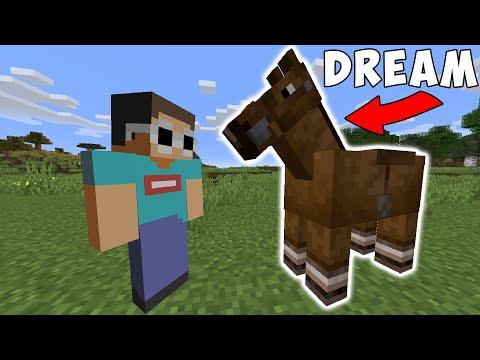 Minecraft, But My Friend Is A Horse... - Видео онлайн