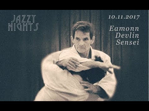 """jazzy nights"" with guest Instructor Eamonn Devlin Sensei 2017"