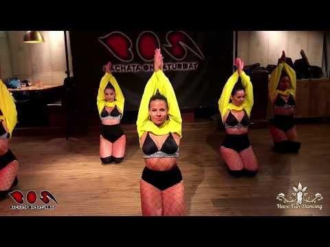 The Rosas del Amargue show team (ladies styling performance)