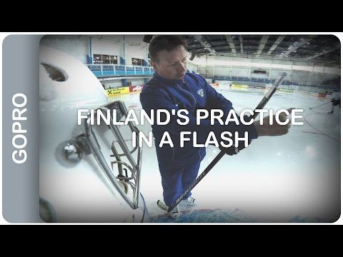 Finland's practice in a flash | #IIHFWorlds 2016