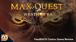 Max Quest Wrath of Ra Slot Review 🔥 Best GamePlay 🔥BetSoft 👌🏻