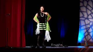 NCAI 2019 NATIONAL CONGRESS OF AMERICAN INDIANS - FASHION SHOW  - Commentary Terre Gatewood