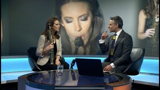 Amy Dickson speaks to Matthew Amroliwala about Take A Breath