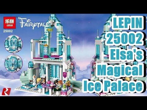Lepin 25002 Elsa's Magical Ice Palace