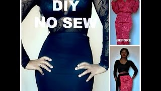Simple No Sew Diy Clothes Revamp And Lookbook