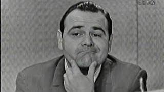 What's My Line? - Jonathan Winters; Martin Gabel [panel] (Apr 17, 1960)