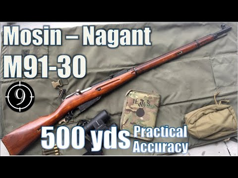 Kar98k Iron Sights to 500yds: Practical Accuracy - YouTube
