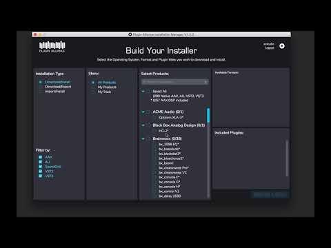 Activation Manual - Plugin Alliance