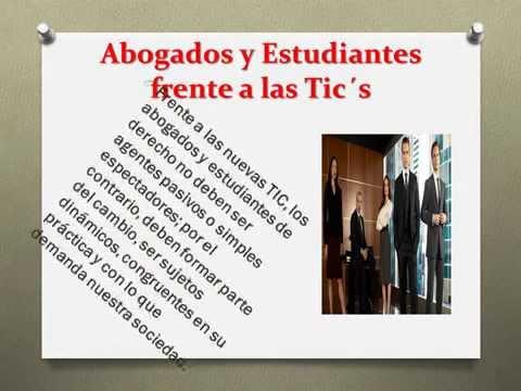 Importancia de las TIC's en la enseñanza del Derecho  Shakira Barrera
