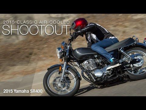 2015 Yamaha SR400 - Classic Bike Shootout Part 3 - MotoUSA
