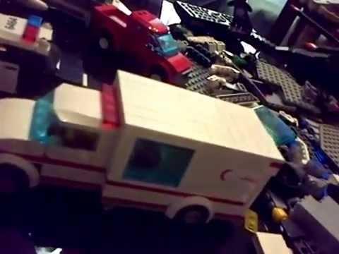 Véhicules et ville en Lego - Vehicles and city in Lego