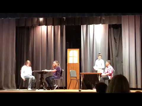 Pine Hollow Middle School, Musical Theatre: The Menu short scene