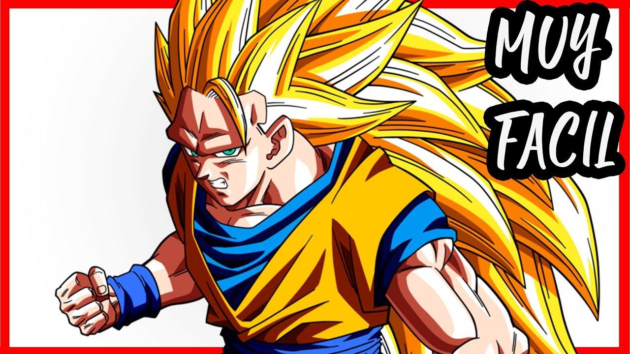 Como Dibujar A Goku Paso A Paso A Lapiz Cuerpo Completo
