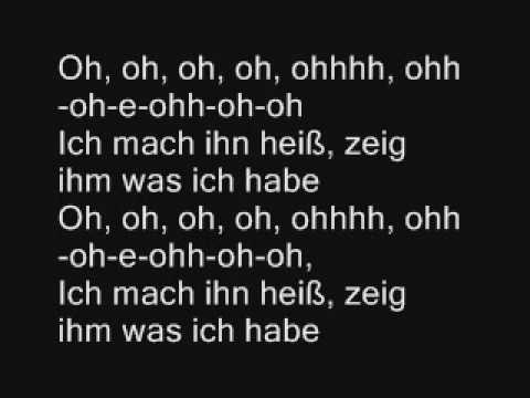 Lady GaGa - Poker Face (deutsche Übersetzung + Lyrics)