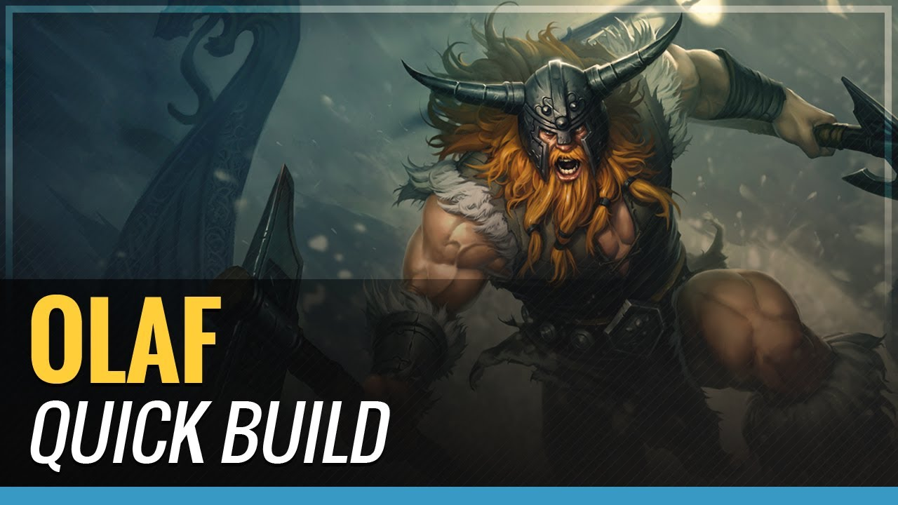 Olaf - S4 Quick Build - League of Legends - YouTube