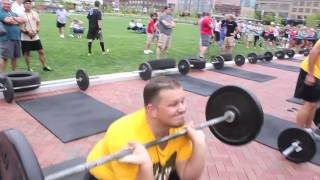 FC Summer Games-Tires, ropes, barbells